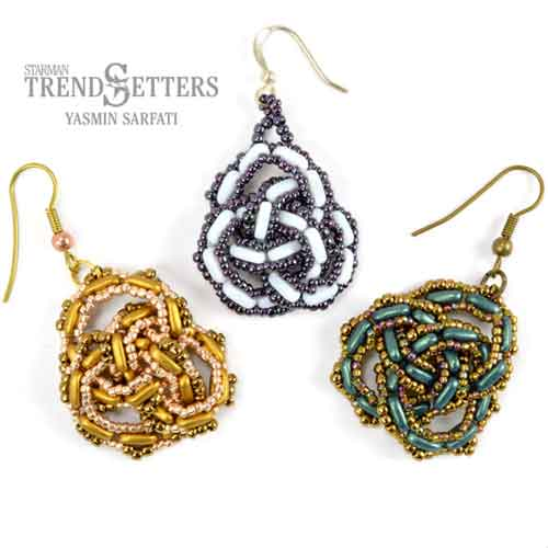 Free Beading Pattern Celtic Knot Earrings