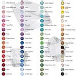 Colors of Swarovski Crystal