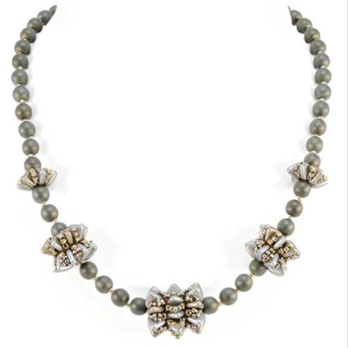 Free Beading Pattern Frill Seeker Necklace