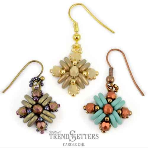 Free Beading Pattern Teresa Earrings